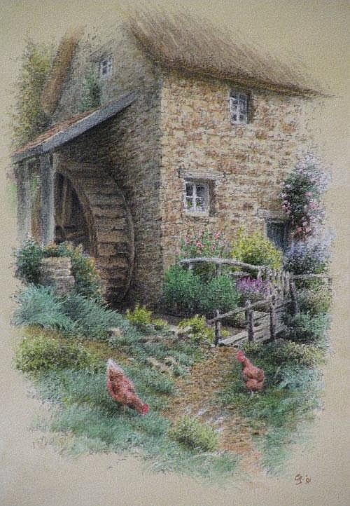 Colin Newman, FSBA, contemporary 'The mill