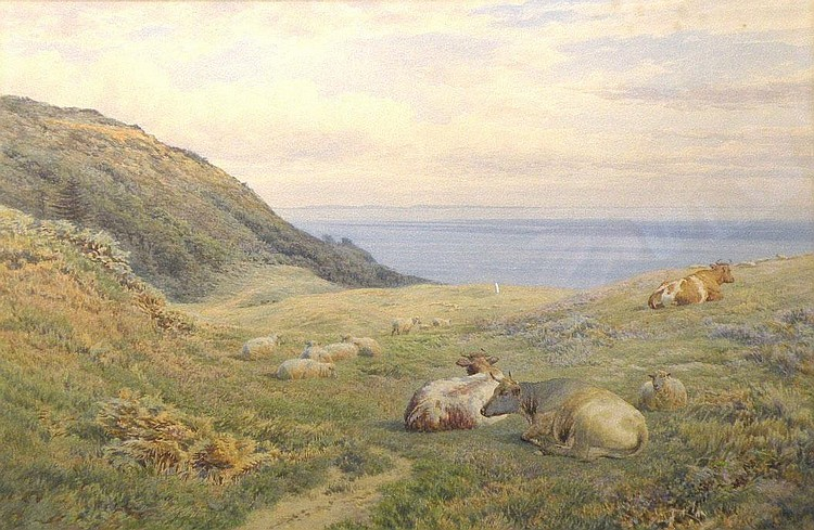 Frederick Williamson (fl.1856-1900) 'Sheep and