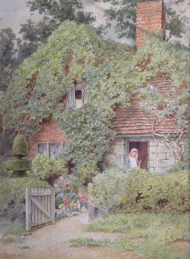Thomas N Tyndale (late 19th century) 'A cottage