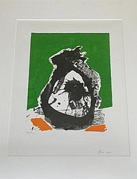 Robert Motherwell (1915 -1991) Untitled B from
