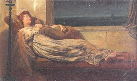 Frank Hobden, (1879-1930), 'Classical lady