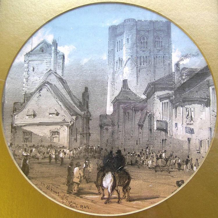 Augustus Northmore Welby Pugin (1812-52) 'St