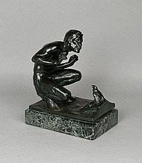 Gotthard Sonnenfeld (1874-) patinated bronze