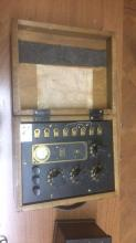 Electrical control box by Thompson ? levering co