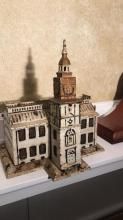 Independence Hall cast iron bank - Repainted