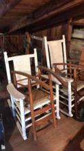 4 rocking chairs