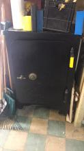 Diebold safe, no combination, has been drilled
