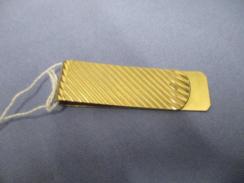 Money Clip by Winard, 1/20th Of 12 Karat Gold, Total Weight 14.5 Grams