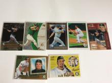 Lot of Jason Giambi Baseball Cards