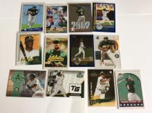 Lot of Miguel Tejada Baseball Cards