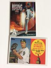 2x Huston Street Rookie Baseball Cards