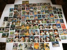 Table Top of Oakland As Star Player Baseball Cards