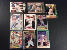 Lot of Juan Gonzalez Baseball Cards