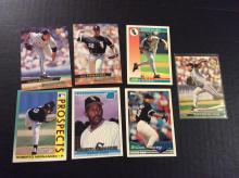 Wilson Alvarez Alex Fernandez and Roberto Hernandez Rookie Baseball Cards