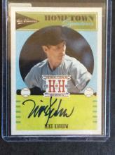 Mike Krukow Authentic Autographed Baseball Card Insert