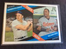 Harmon Killebrew and Nelson Cruz Now and Then Baseball Card