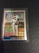 Alex Burnett Topps Chrome Diamond Refractor Rookie Baseball Card