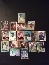 Lot of Dave Winfield Baseball Cards Vintage and Modern Variety