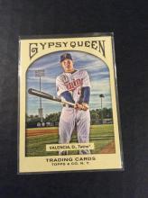 Danny Valencia Gypsy Queen Short Print Edition Baseball Card