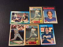 Pete Incaviglia Rookie Baseball Cards and More