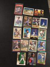 Lot of Gary Sheffield Rookie Baseball Cards and More