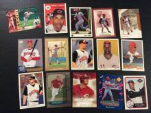 Barry Larkin and Adam Dunn Baseball Cards