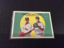 Matsuzaka and Beckett Batter Bafflers Baseball Card Insert