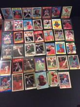 Lot of Ozzie Smith Baseball Cards