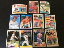 Lot of Pete Rose Baseball Cards