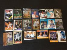 Lot of Don Mattingly Baseball Cards