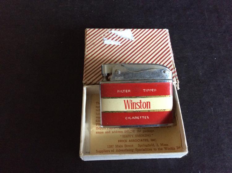 Vintage Winston Cigarette Lighter