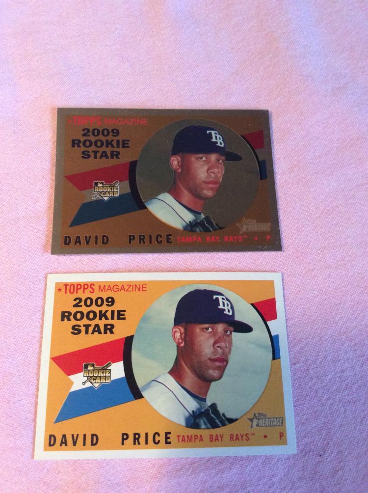 David Price Rookie Baseball Cards