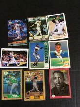 Barry Bonds and Mark McGwire Rookie Cards and More