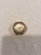 Vintage Mens Estate Watch Timex Electric Gold Toned