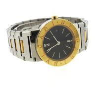 Bvlgari Bulgari 18k Gold Steel Watch BB26 SGD