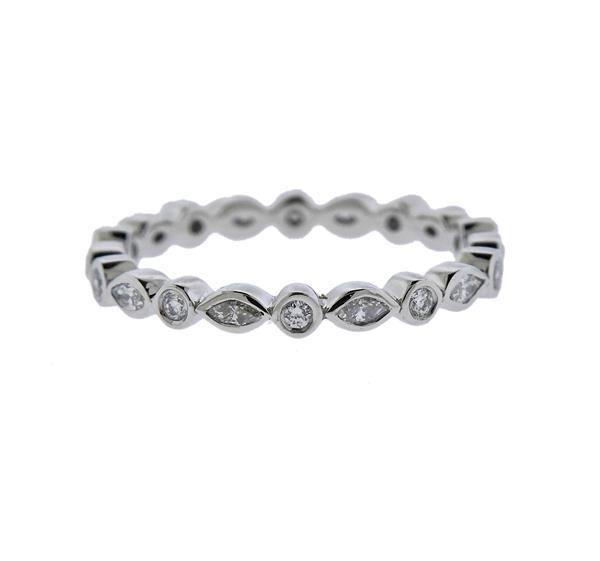 Platinum Diamond Eternity Band Ring