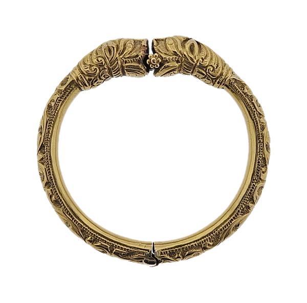 18K Gold Chimera Bangle Bracelet