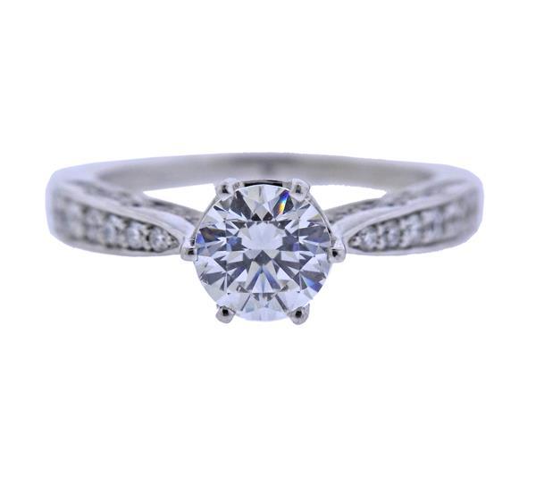 Peter Storm 18K Gold Diamond Engagement Ring Mounting