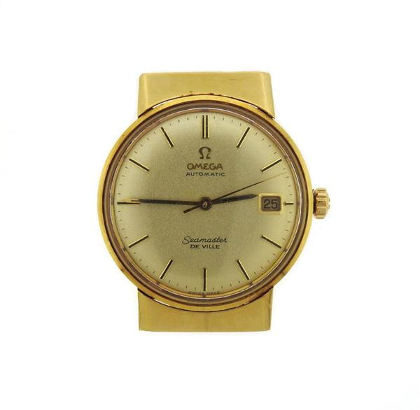 Omega De Ville Seamaster 18k Gold Automatic Watch