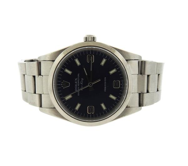 Rolex Air King Stainless Steel Precision Watch 14000