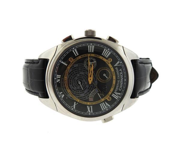 Citizen Campanola 110 Perpetual Calendar Steel Watch 6702 T013112 TA