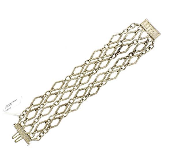 Charles Krypell Sterling 14k Gold Bracelet