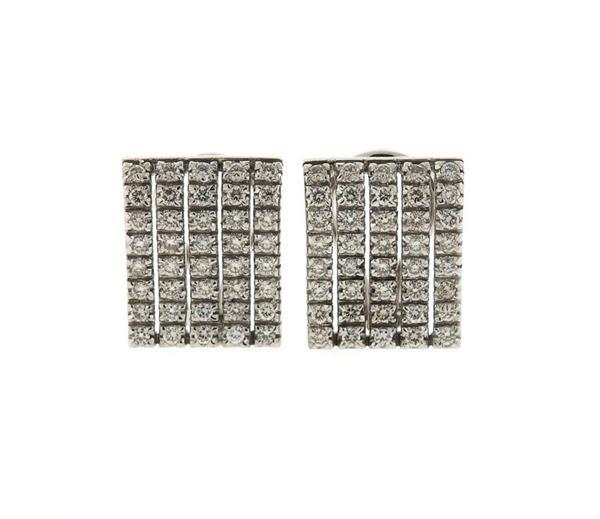 14K Gold Diamond Earrings