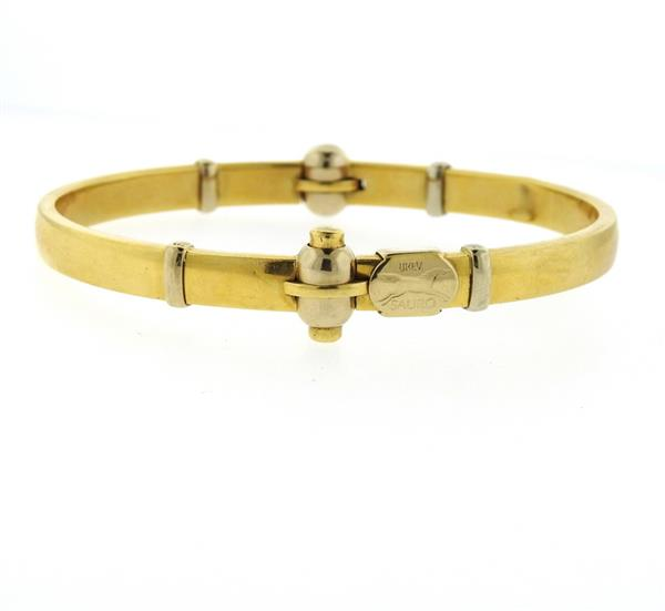 Sauro 18k Gold Bangle Bracelet