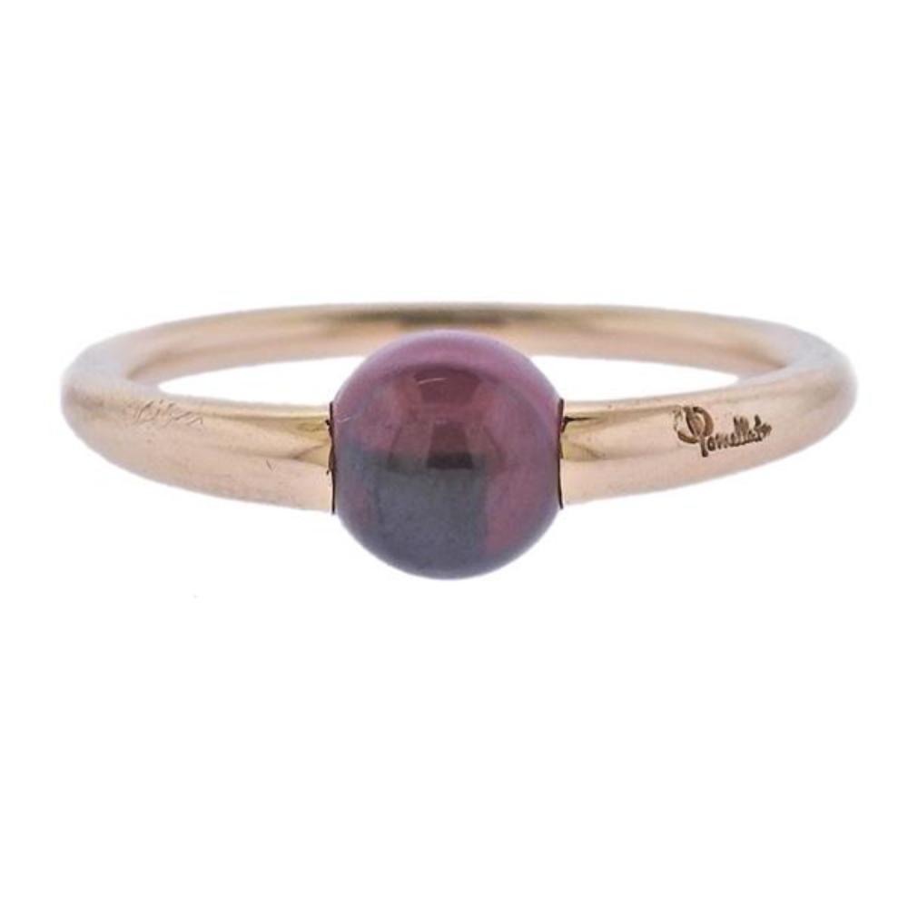 Pomellato 18K Gold Garnet Ring