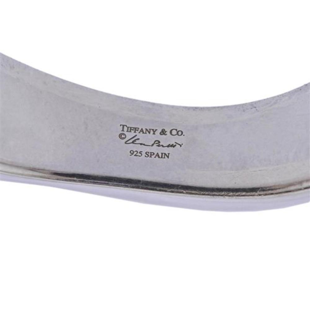 Tiffany & Co Elsa Peretti Silver Cuff Bracelet