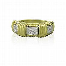 Roberto Coin Appassionata 18k Gold Diamond Ring