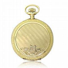 Waltham 14k Gold Antique Pocket Watch