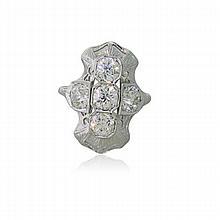 Art Deco 18K Gold 2.75ctw Diamond Ring