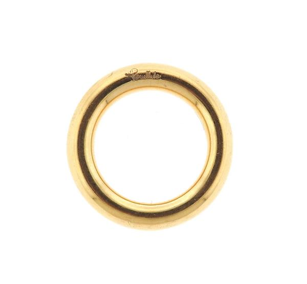 Pomellato 18k Gold Band Ring